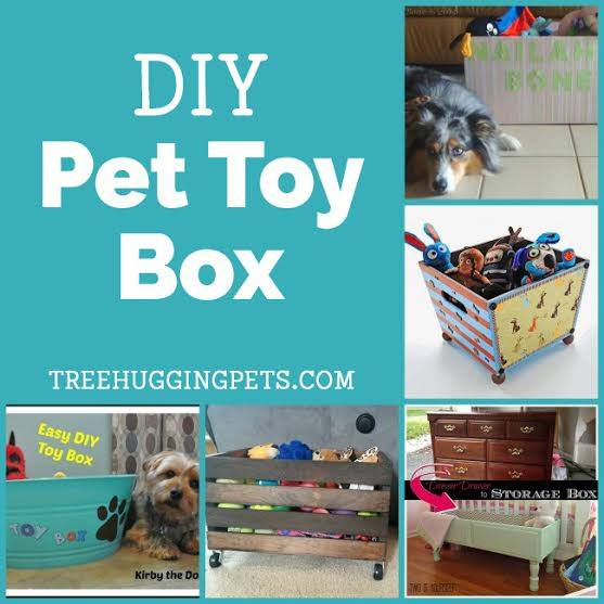 DIY Pet Toy Organizers | Tree Hugging Pets | The All Natural U0026 Eco Friendly  Resource For Pet Parents